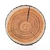 HYSEAS Round Throw Pillow Wood Log Pillow, 3D Digital Print Decorative Comfortable Plush Stuffed Cushion Funny Cute Tree Wood Toy for Couch, Chair, Floor, Sofa, Camping, Stump