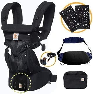 エルゴベビー OMNI360 オムニ360クールエア/ブラック 抱っこひも 正規代理店2年保証 (よだれパッド+抱っこひも収納カバー付) ERGO Baby