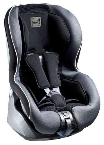 Kiwy 13011KW01B - Seggiolino auto per bambini, gruppo 1 (9/18 kg), con sistema di sicurezza SA-ATS, certificato ECE R44/04, colore: Grigio...