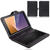 NAUC Vodafone Smart Tab N8 Tablet Tasche USB Tastatur Keyboard Hülle Cover Schutzhülle Hülle Qwertz
