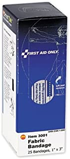 DayMark 132475 First Aid Flesh Colored Fabric Bandages