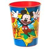 Disney Mickey Fun and Friends 16 oz. Plastic Cup ディズニーミッキー&フレンズ楽しい16オンス?プラスチックカップ♪ハロウィン♪クリスマス♪ [並行輸入品]