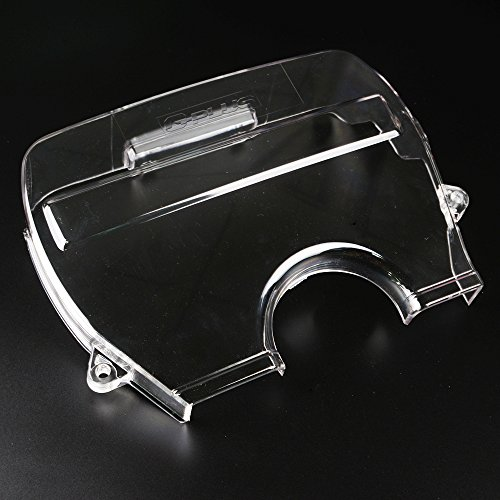 Transparent Clear Cam Timing Belt Cover Replacement For Toyota Supra JZA70 / Soarer JZZ30 / Chaser Cresta JZX91 / Toyota Mark II JZX81 JZX90 1JZ-GTE