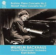 ブラームス : ピアノ協奏曲第2番 | モーツァルト : ピアノ協奏曲第27番 / バックハウス | ベーム | ウィーン・フィル (Brahms: Piano Concerto No.2 & Mozart: Piano Concerto No.27 / Backhaus, Böhm & VPO) [CD] [日本語帯・解説付]