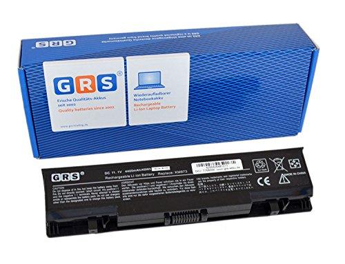 GRS Batterie pour Dell Studio 1735, 1737, Inspiron 1737, remplacé: RM791, KM973, KM976, RM870, MT335, KM978, RM868, PW823, Laptop Batterie 4400mAh, 11.1V