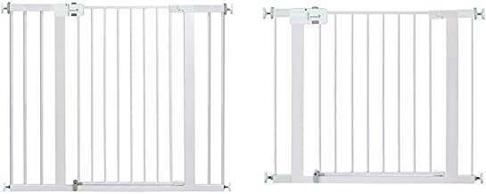 Safety 1st Easy Install Extra Tall and Wide Baby Gate with Pressure Mount Fastening, Pack of 1 with Safety 1st Easy Instal...