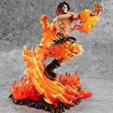 GUANGHHAO One Piece Portgas·D· Ace Figurine 25cm-20e Anniv
