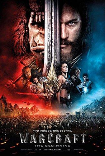 Warcraft Movie Poster Limited Print Photo Paula Patton, Ben Foster Size 24x36 #1
