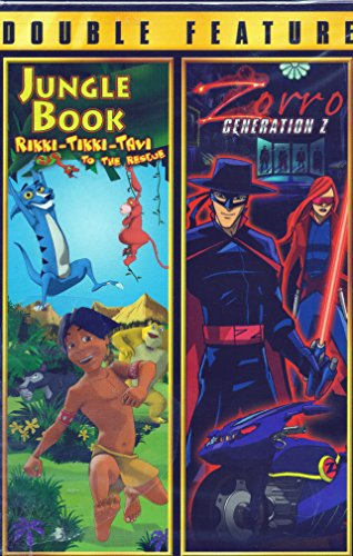 Jungle Book Rikki-Tikki-Tavi To The Rescue/Zorro Generation Z Double Feature