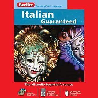 Berlitz Italian Guaranteed audiobook cover art