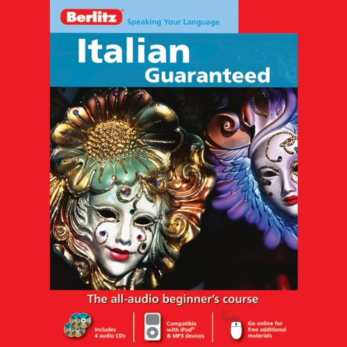 Berlitz Italian Guaranteed audiobook cover art