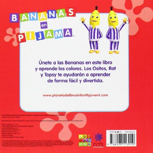 Bananas en pijama. Los colores