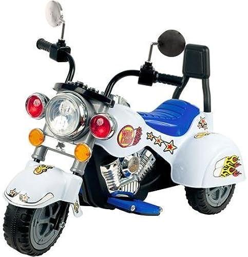 distribución global Rockin' Rollers blanco Knight 3-Wheel Motorcycle 6-Volt Battery-Powerojo Battery-Powerojo Battery-Powerojo Ride-On by ROCKIN' ROLLERS  Garantía 100% de ajuste