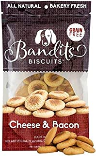 Bandit's Biscuits All Natural Grain Free Healthy Dog Treats 10 oz Dog Cookies Made in The USA
