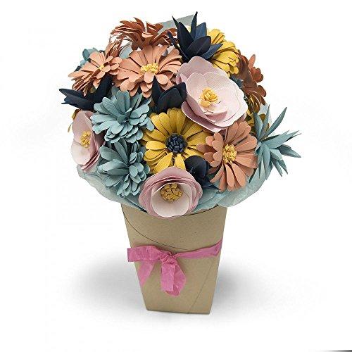 Sizzix Bigz L Die-Bundle of Flowers by Katelyn Lizardi, Steel/Wood/Plastic, Multicolour, 24.1 x 15.4 x 1.9 cm