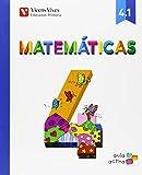 Matemáticas 4. Libro 1, 2 y 3. (Aula Activa)