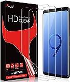 TAURI 3 Pack HD Clear Screen Protector de Pantalla 3D Cobertura Completa Soft TPU Compatible con Samsung Galaxy S9 Cobertura Máxima, Sin Burbujas Sin Aplicación Anti-Oil y Anti-Huellas Fácil Instalar