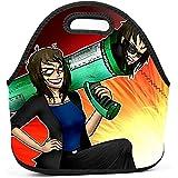 Bolsas de almuerzo reutilizables Bolsas porta-almuerzo portátiles S-Sun-Dee...