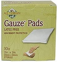 海外直送品All Terrain Gauze Pads, 2 Inch X 2 Inch, Pads, 2 Inch/2 Inch 10 Pc (Pack of 2)