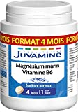 JUVAMINE - EQUILIBRE NERVEUX, MAGNESIUM MARIN + VITAMINE B6, MAXI FORMAT 120 comprimés