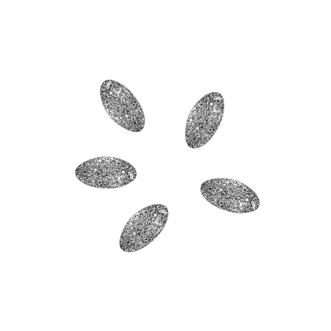 致命的な溶接昼食Bonnail ラフスタッズシルバー オーバル2×1mm