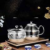 Hmg Tipo de Bombeo Automático Agregar Agua Full Smart Electric Glass Kettle Pumping Hervido Juego de Estufa de té