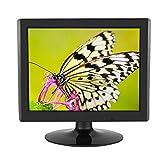 logozoe Schermo del Computer da 15 Pollici, Monitor LCD TFT LCD HD a Lunga Durata, Portatile 1024 x 768 per PC/TV/CCTV(European regulations)