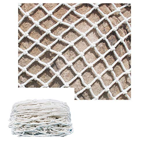 Why Should You Buy Protective Netting for Garden Use, Child Safety Net White Nylon Rope Decoration N...