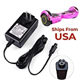 36V Scooter Battery Charger for Razor Hovertrax 2.0, SWAGWAY X1, SWAGTRON T1 T3 T6, 2 Wheel Hoverboard Scooter
