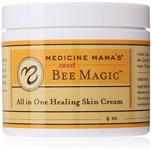 Medicine Mama#039s Apothecary Sweet Bee Magic All In One Healing Skin Cream 4 Ounce