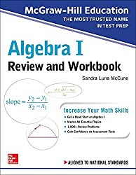 cheap McGraw-Hill Education Algebra I Review and Workbook