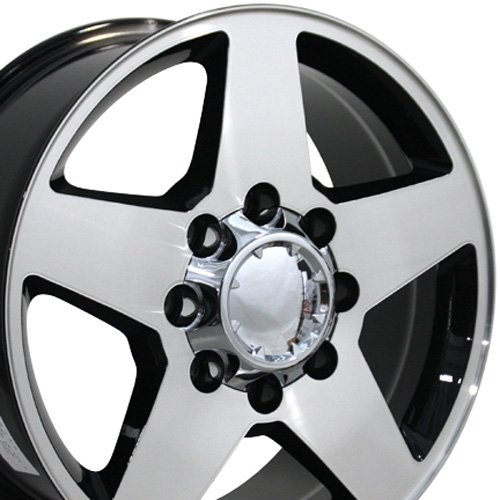 chevy 2500hd rims - 2