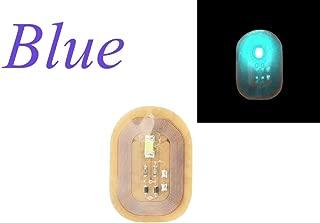 Women NFC Nail Art Tips DIY Stickers Phone LED Light Flash Party Decor Nail Tips (E)