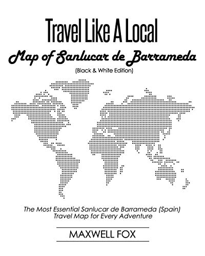 Travel Like a Local - Map of Sanlucar de Barrameda (Black an