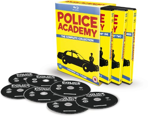 Police Academy: The Complete Collection [7 film] [Blu-ray] [1984] [2013] [Region Free]
