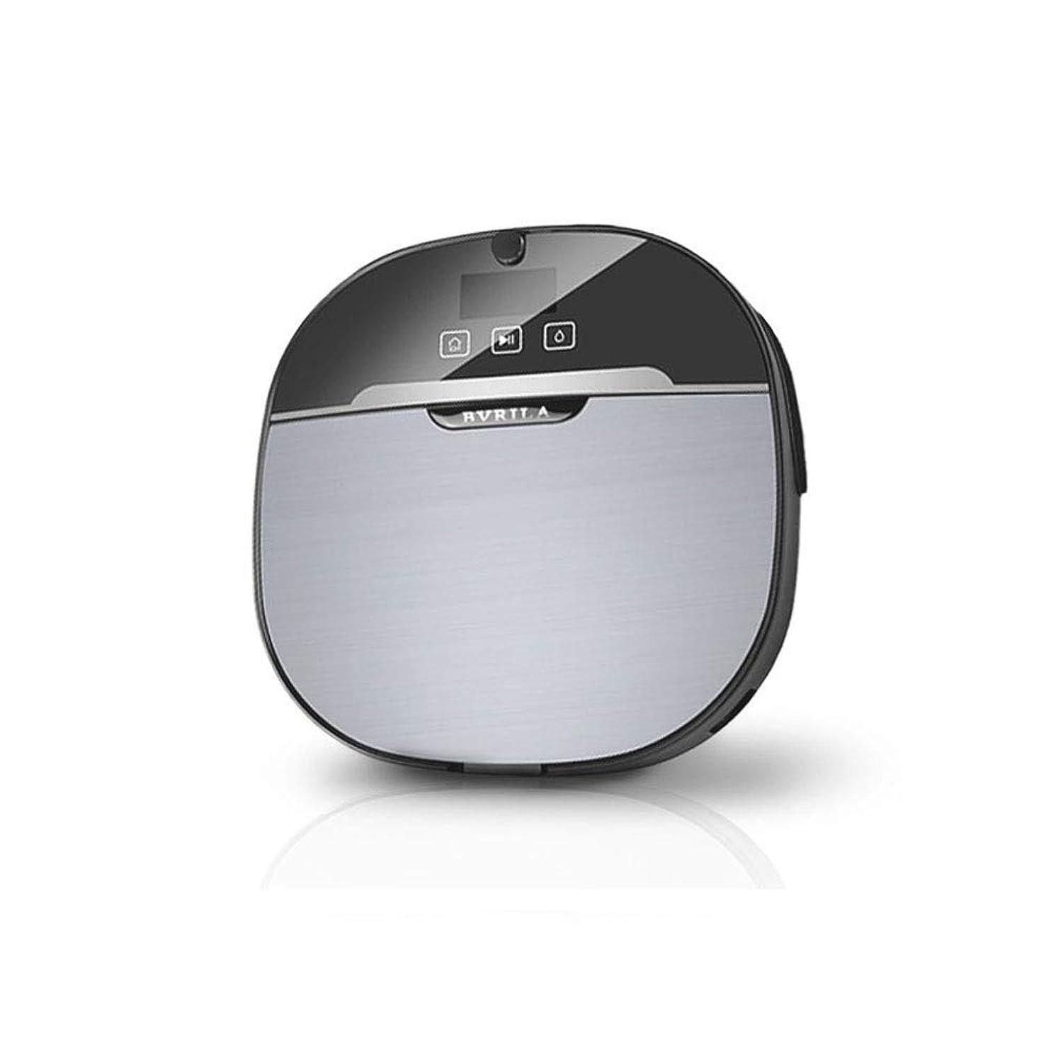 モディッシュ信頼できる凝縮するスマート掃除ロボット、インテリジェントな家庭用クリーナー、自動、薄い、床吸着、掃引、一体モップ 小さなノイズ