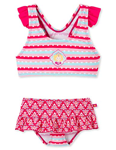 Schiesser Prinzessin Lillifee Bustier-Bikini Set Costume da Bagno, Multicolore (Multicolor 1 904), 104 Bambina