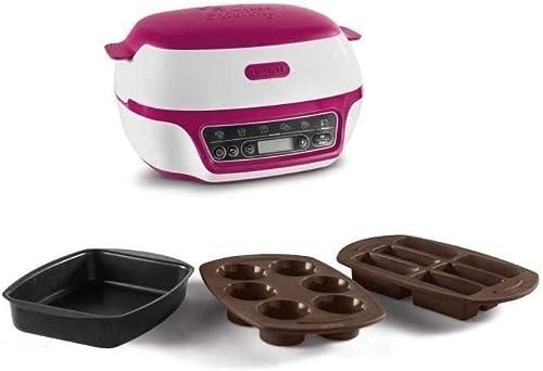 TEFAL CAKE FACTORY Machine Intelligente à gâteaux Appareil Cuisson Conviviale Pâtisserie Fondants Meringues Muffins M...