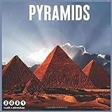 Pyramids 2021 Wall Calendar: 2021 Wall Calendar 18 Months Egypt Pyramids