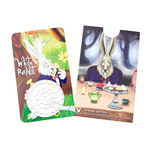 Herb Grinder Card, White Rabbit Design by V Syndicate