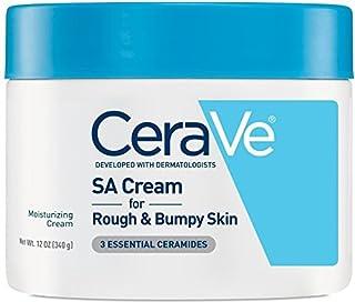 CeraVe SA Cream   12 Ounce   Renewing Salicylic Acid Body Cream for Rough and Bumpy Skin   Fragrance Free   ⭐&#xFE0...