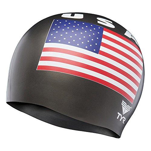 TYR USA Silicone Cap, Black
