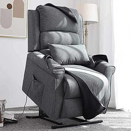Irene House Power Lift Chair Modern Transitional Chair Lifts for Elderly Up to 300 LBS Soft Linen...