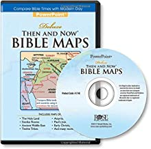 Deluxe Then and Now® Bible Maps PowerPoint: Compare Bible Lands with Modern Day Cities and Countries