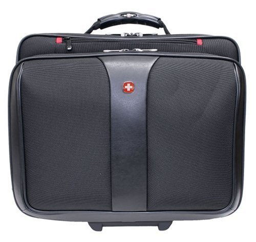Patriot from Swiss Gear by Wenger Triple Gusset Rolling Computer Case w/Removable Tote