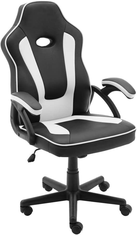 play haha Gaming-Stuhl im Racing-Stil, Bürodrehstuhl, Computer-Schreibtischstuhl, ergonomischer Konferenzstuhl, Arbeitsstuhl mit…