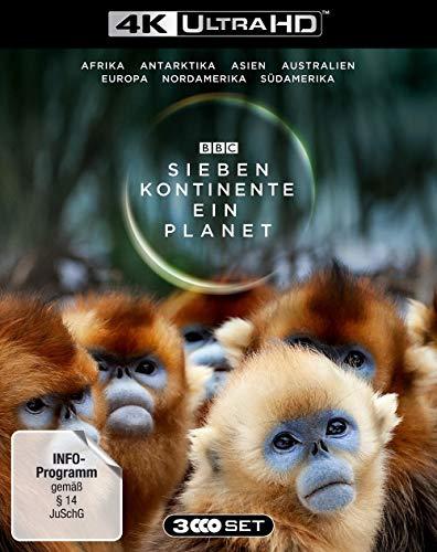 Sieben Kontinente - Ein Planet (4K UHD) [Blu-ray]