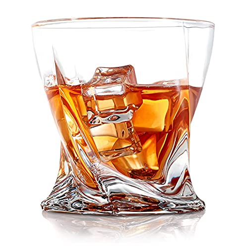 COPLIB Whiskey Glasses Set of 6, Old Fashioned Glasses with Luxury Box, Premium 11 OZ Crystal...
