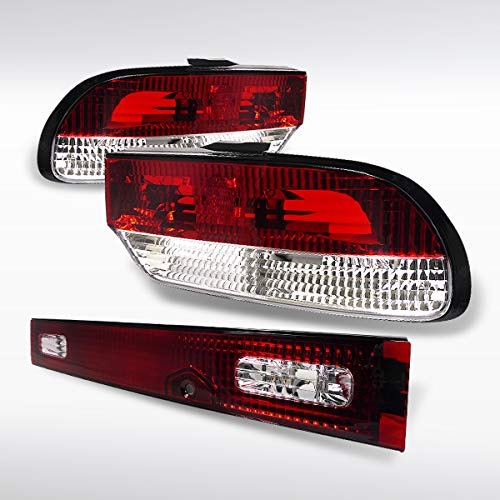 Autozensation For Nissan 240SX Chuuki S13 3DR Hatchback 3PC Tail Lights Rear Lamp Trunk 3dr Hatchback Oem Replacement