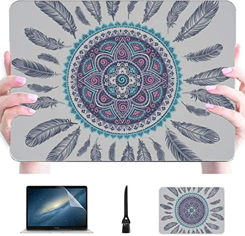 MacBook Pro Computer Case Ethnic American Indian Dream Catcher Can Plastic Hard Shell Compatible product image